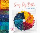 Moda SUNNY DAY BATIKS Quilt Fabric Batik LAYER CAKE 42 10