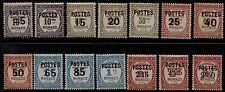Monaco - 1937 - Sovrastampati - Unificato nn.140/152A - nuovi - MH