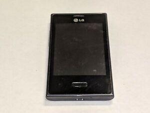 LG Optimus Dynamic L38C 1GB Black TracFone Smartphone LGL38C *Tested Working*