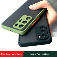 For Samsung S21 Ultra S20 Plus Note20 Note10 S9 Shockproof Matte Hard Case Cover