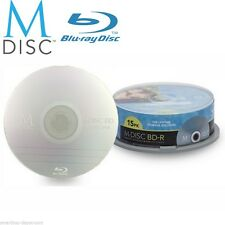 15 Pack Millenniata M-Disc BD-R 25GB 4X HD 1000 Year Permanent Recordable Disc
