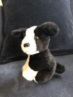 Babe Pig Sheep Dog Border Collie Black And White Soft Toy Mini Dog Puppy Rex VGC