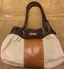 Beige & Brown Brighton Hobo Handbag