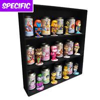 SODA Display Cases for Funko Pops, Black Cardboard