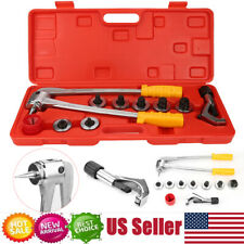 New listing Plumbing Pipe Expander Tool 7 Lever Hvac Hydraulic Copper Heads Tube Swaging Set
