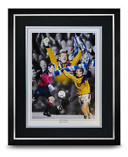 Andy Goram Signed Photo Large Framed Display Rangers Autograph Memorabilia + COA