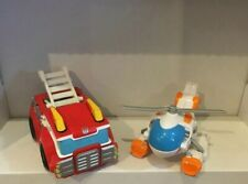 Rescue Bots Set of 2 Blades and Heatwave Transformers Vehicles