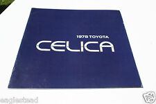 Auto Brochure - Toyota - Celica - 1978 (AB372) - OS