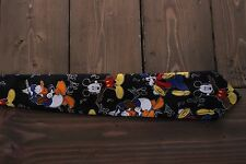 Mickey Mouse Donald Duck Goofy Polyester Neck Tie