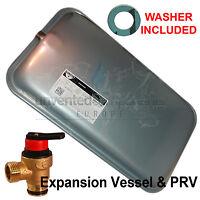 Expansion Vessel For Vaillant  Ecotec Plus Boiler 181051 c/w Safety Valve 178985