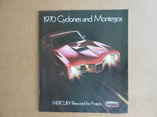 Mercury 1970 Original Dealer Brochure