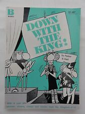 WIZARD OF ID DOWN WITH THE KING 1982 PARKER AND HART GOOD CONDITION