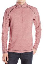 $198 New Mens Robert Graham Active Fit Sentient Half Zip Pullover Shirt M