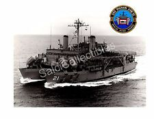 Historic Us Navy Submarine Rescue Ship Pigeon Asr-21 Official Photo 8x10
