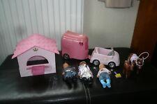 Zapf Creation Mini Baby Born Miniworld Doll Clothes Car Horse Box Trailer House