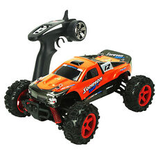 1/24 High Speed RC Radio Control Car RTR Racing Truck Buggy Kid Toy Orange S224