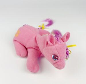 My Little Pony G2 Beanie plush Pink Soft RARE brushable hair