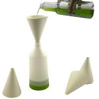 60 PACK DISPOSABLE PAPER FUNNELS Kitchen Oil Filter Garage Garden Art Craft