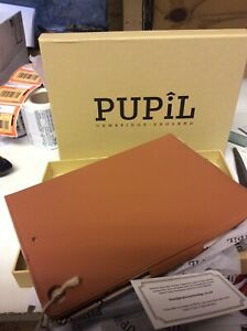 Leather cover IPAD AIR 1&2 GRADUATE by Pupil (made in Cambridge) WHISKEY