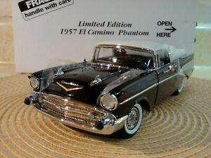 DANBURY MINT 1957 CHEVY EL CAMINO PHANTOM..1:24..RARE LE..NEW IN BOX UNDISPLAYED