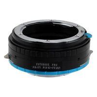 Fotodiox Pro Lens Shift Adapter Nikon F Mount G-Type to Fujifilm Fuji X Camera