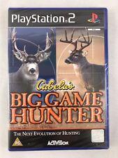PS2 Cabela's Big Game Hunter 2004, Royaume-Uni PAL, Brand New & Sony FACTORY SEALED