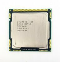 Intel Core i5 760 CPU Only 2.8GHz Quad Core 4 Threads Lynnfield LGA1156