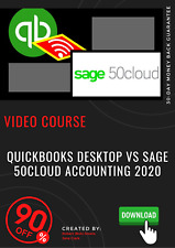 QuickBooks Desktop vs Sage 50cloud Accounting 2020 video training course