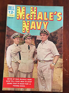 McHALES NAVY    No 2 BY DELL PUBLICATIONS V FINE  (8.0) 1963