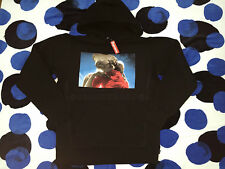 2015 F/W SUPREME CDG BOX LOGO E.T ET HOODED SWEATSHIRT PULLOVER HOODIE S SMALL