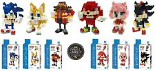 Nanoblock, SONIC the HEDGEHOG Complete Series of 6 kits. NBCC-081 - NBCC-086 NEW