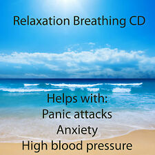 ***RELAXATION BREATHING CD - RESPERATE ALTERNATIVE, LOWER BLOOD PRESSURE****