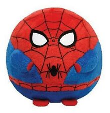Ty Beanie Ballz 8'' Plush SPIDERMAN Medium Ball ~NEW~