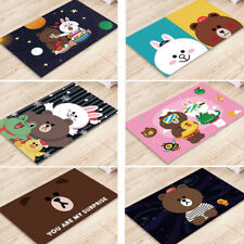 Line Friends Brown Cony Sally Antiskid House Home Door Pad Floor Mat Rug