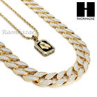 MENS ICED OUT CUBAN LINK 30