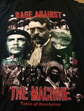 Vintage Rage Against The Machine Embroidered Rare Mexico Original Rock Shirt L