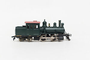 RARE FULGUREX KMJ 0-4-4 HO BRASS US FORNEY RED GREEN FACTORY PAINTED TESTED