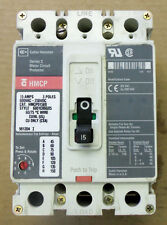 Cutler Hammer  HMCP 3 pole 15 amp 600v HMCP015E0 Circuit Breaker