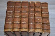 HISTOIRE D'ANGLETERRE JOHN LINGARD - 6 VOLUMES - 1845 chez Charpentier / D20