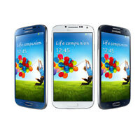 Unlocked Samsung Galaxy S4 GT-I9500 Android 13MP Smart Phone - Black (16GB)