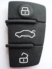 Reemplazo De Control Remoto Almohadilla Botones Para AUDI A3 A4 A6 2005+ clave flip