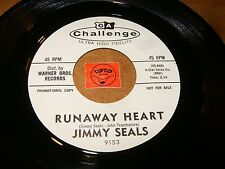 JIMMY SEALS - RUNAWAY HEART - WISH FOR YOU WANT FOR YOU  / LISTEN - TEEN POPCORN