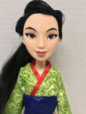 Disney Princess Mulan Doll Hasbro 2015 Used