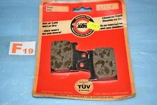 2 plaquettes de frein arrière SBS 573LF HONDA VF 1000 R 1984/1986