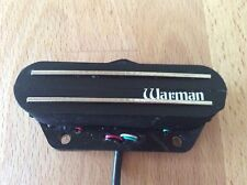 Warman Peacemaker Tele warm rail, Tele sized guitar humbucker can be coil tapped