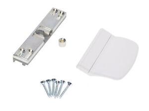 Balkontürschnapper Schnäpper für Balkontür oder Terrassentür inkl. Griff weiß
