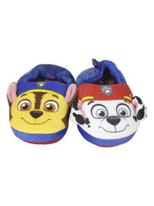 Nickelodeon Toddler/Little Boy's Paw Patrol Blue Slippers Shoes