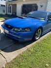 2004 Ford Mustang MACH I 2004 Ford Mustang Coupe Blue RWD Automatic MACH I