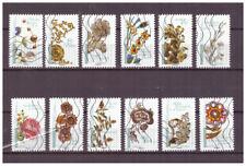 Serie Flores en el Arte de Francia sellos adhesivos 2017