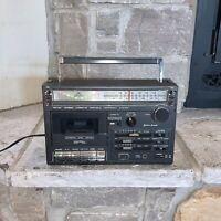 Vintage Lenoxx Sound CT-772G Cassette Tape Player Radio Boombox Working